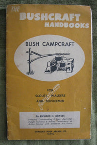 Bush Campcraft  Australian Boy Scouting book