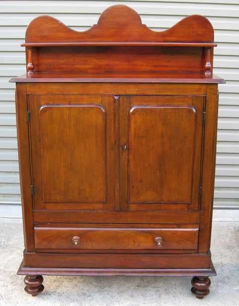 Australian cedar meatsafe/chiffonier c1890 with pine secondary timbers Hunter Valley New South Wales