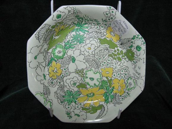 Clarice Cliff A J Wilkinsons Limited Bizarre Crepe De Chene pattern bowl