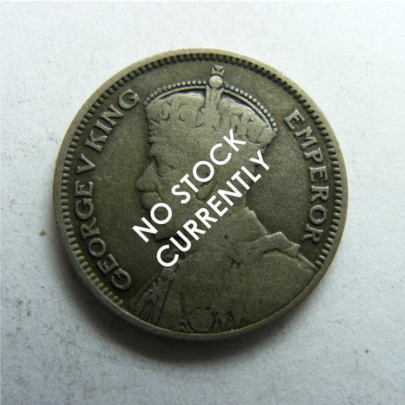 New Zealand 1935 Sixpence King George V Coin