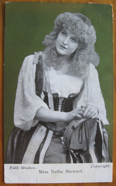 Postcard Miss Nellie Stewart by Harding & Billings series 93 'Our Nellie