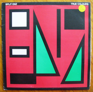 Split Enz - True Colours vinyl LP 33rpm record Mushroom label L 37167