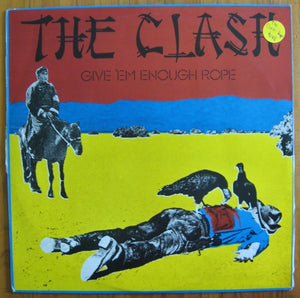 The Clash Give 'Em Enough Rope vinyl LP 33rpm record CBS label SBP 237265