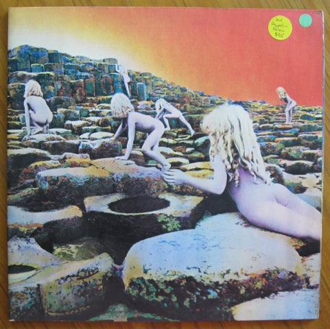 Led Zeppelin - Houses of The Holy vinyl LP 33rpm record Atlantic label  Limited SD 7255