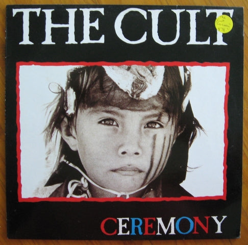 The Cult - Ceremony vinyl LP 33rpm record BB Beggars Banquet label BEGA 122