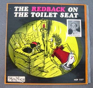 The Redback on the toilet seat