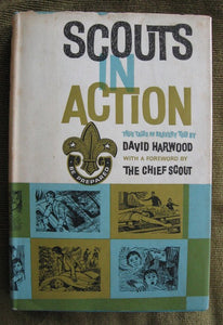Scouts in Action Boy Scouting book