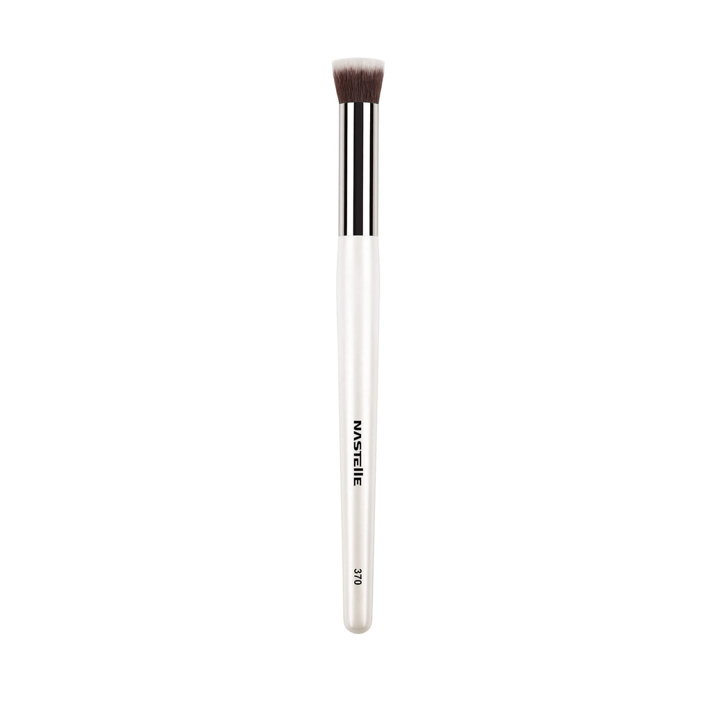N370 Nastelle Concealer Brush pearl white handle
