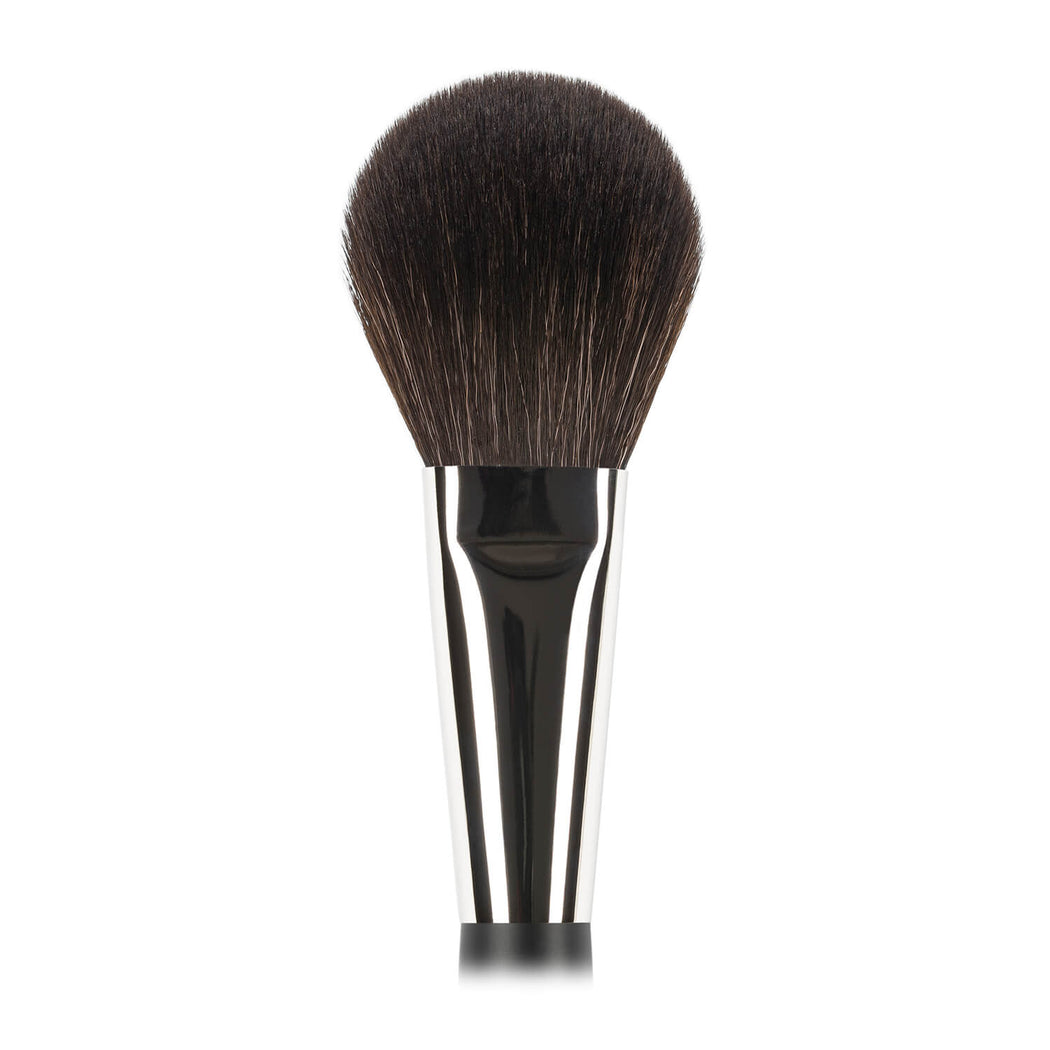 N502 Nastelle Large Powder Brush synthetic squirrel imitation fibers close-up