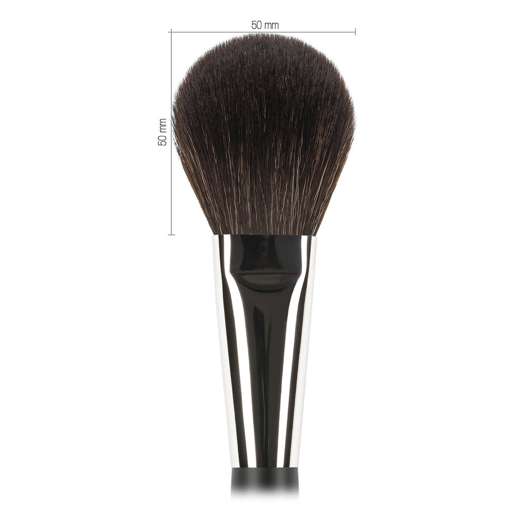 N502 Nastelle Large Powder Brush synthetic squirrel imitation fibers dimensions