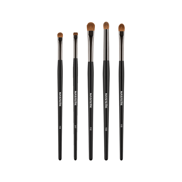 Nastelle Eyeshadow kit 5 brushes set