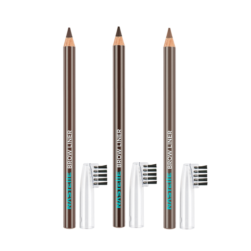 Eyebrow Pencil Set with 3 Nastelle Brow Liners