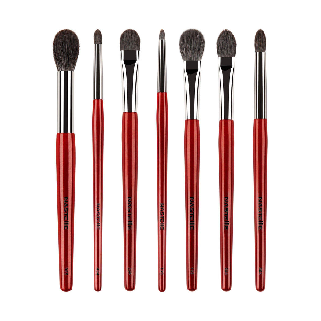 Nastelle Vamp Red Collection Brush Set 7 Pcs