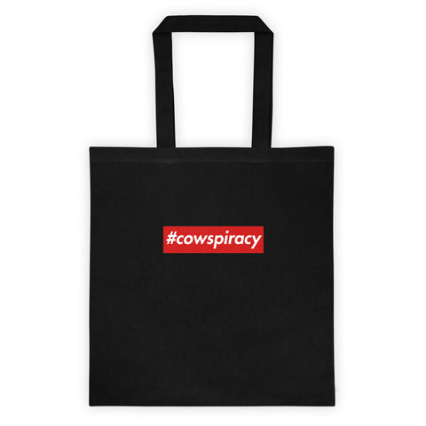#cowspiracy - Canvas Tote Bag