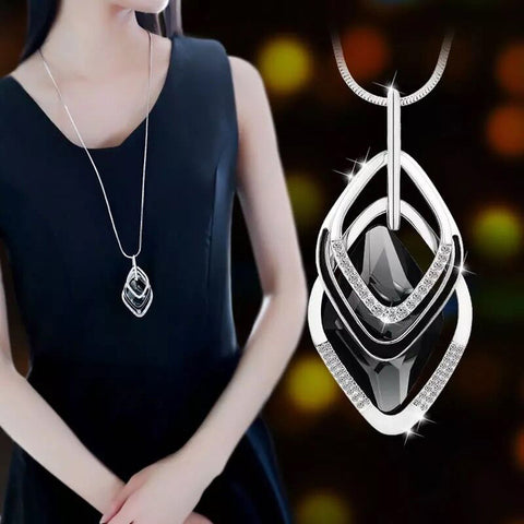Meyfflin collier femme long necklaces pendants for women round meyfflin collier femme long necklaces pendants for women round statement necklace chain fashion jewelry 2018 aloadofball Choice Image