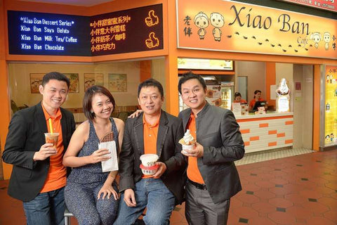4 friends who started Xiao Ban's dream in Vietnam, Ho Chi Minh City