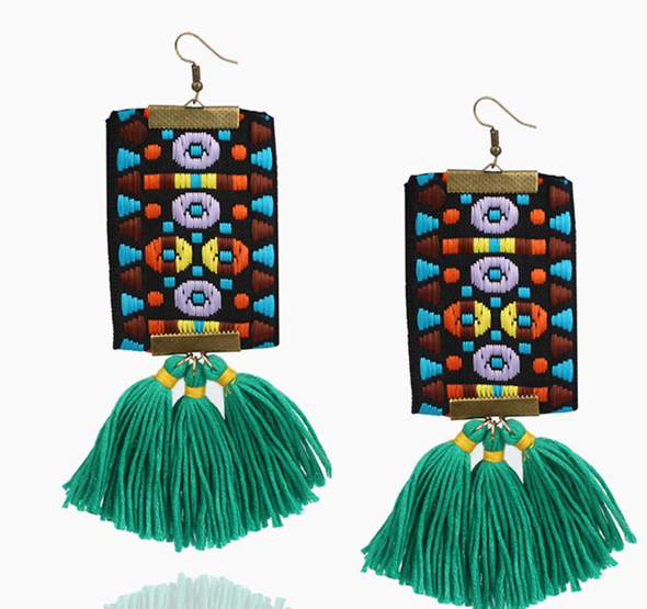 Imani Tassle Earrings