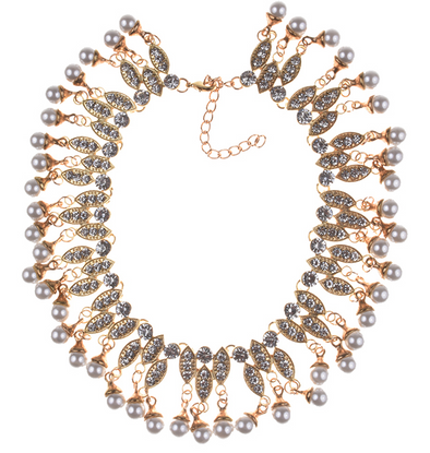 Cassie Bib Necklace