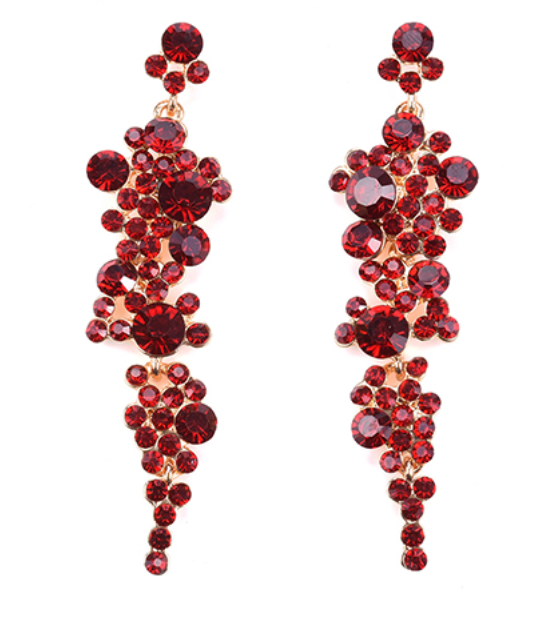 Rouge Drop Earrings