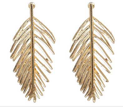 Zulu Leaf Earrings