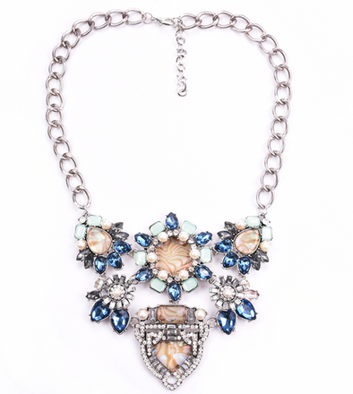 Tamar Crystal Necklace