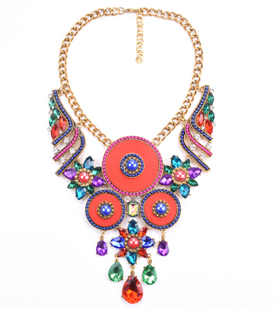 Bourdeaux Bib Statement Necklace
