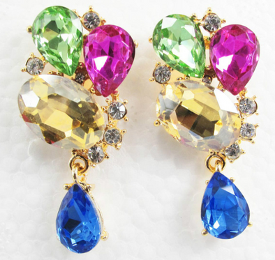 Cora Crystal Earrings