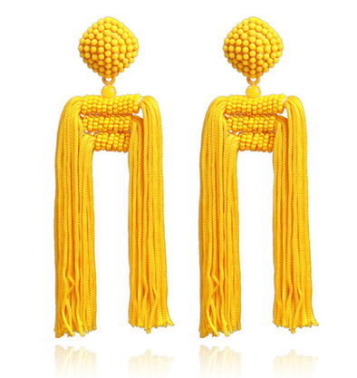 Sierra Moon Tassel Earrings