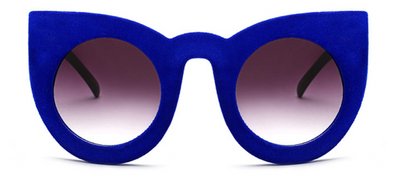 Abbey Velvet Cat Sunglasses