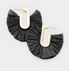 Camille Fan Tassel Earrings