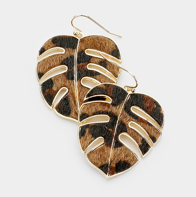 Yambo Leopard Earrings