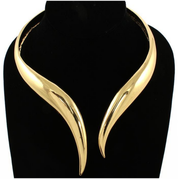 Arielle Cuff Choker Necklace