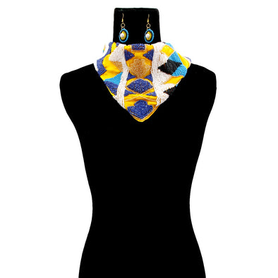 Analisa Scarf Necklace
