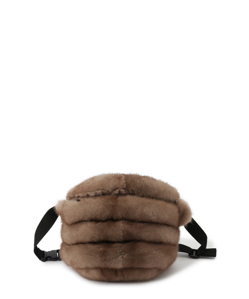 Mink belt bag