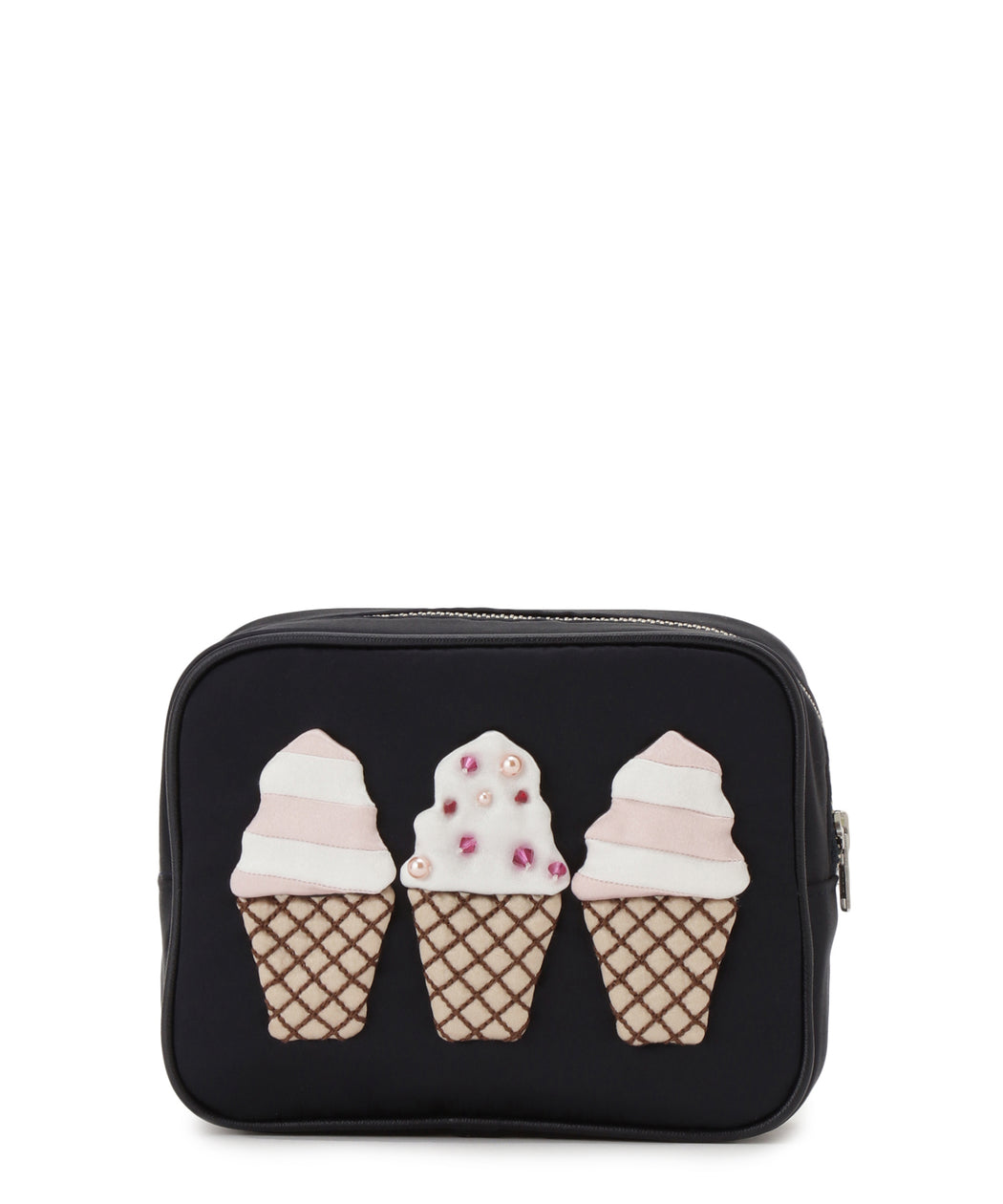 [阪急限定] Pouch with tissue case (ice cream)
