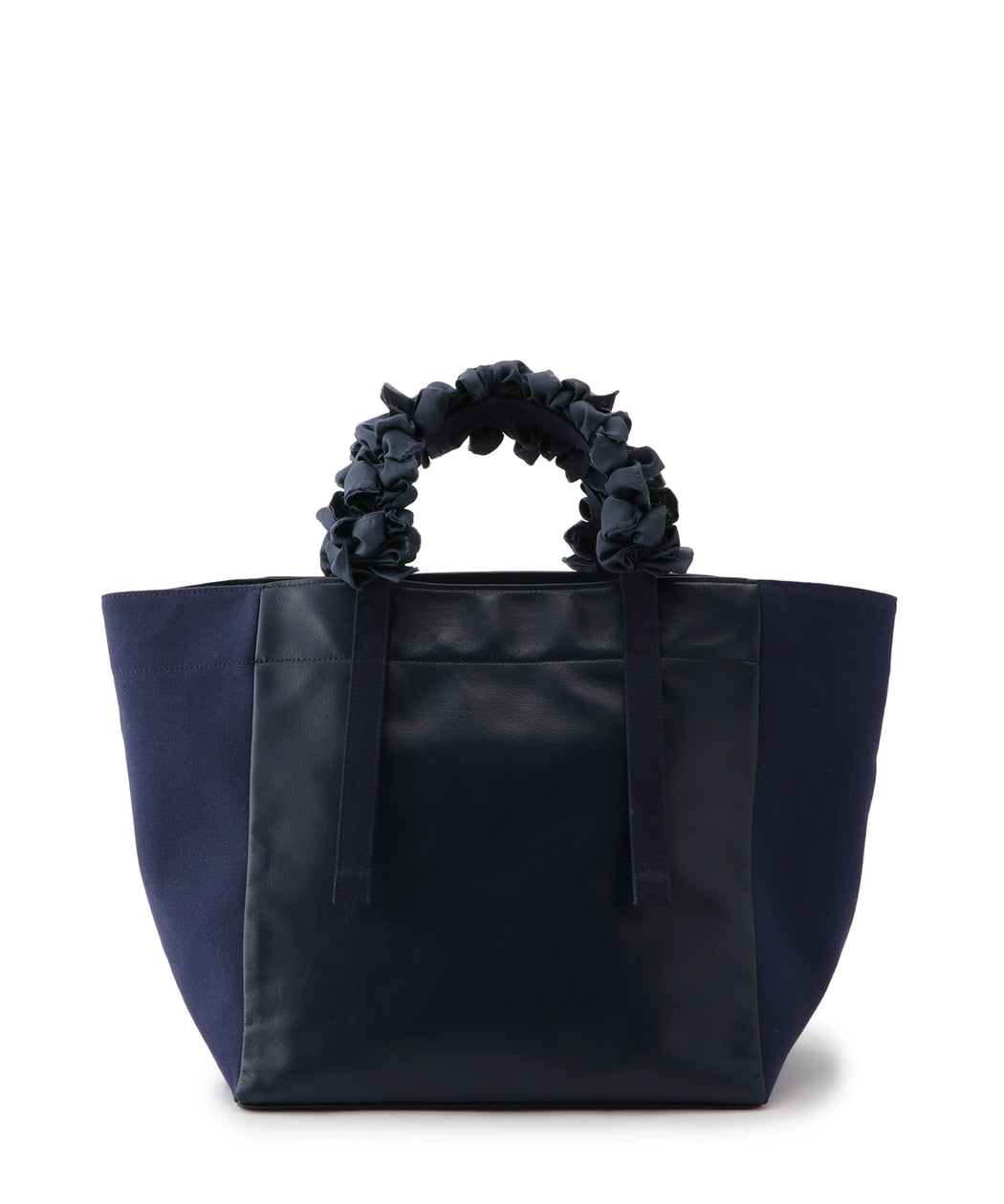 [WEB限定] Grape handle tote (Leather)