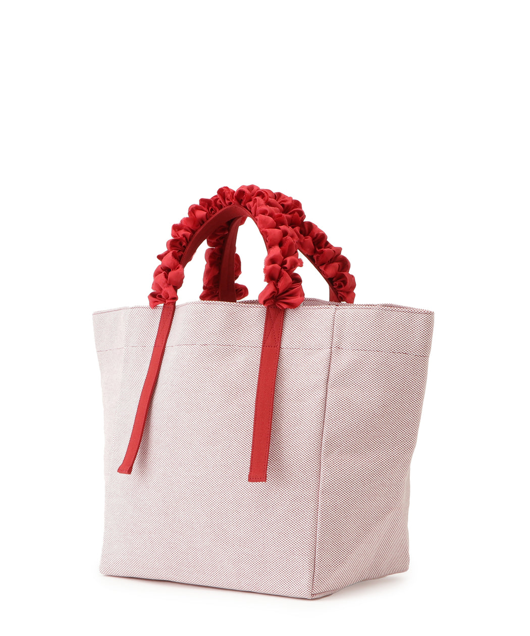 Grape handle tote (block check)