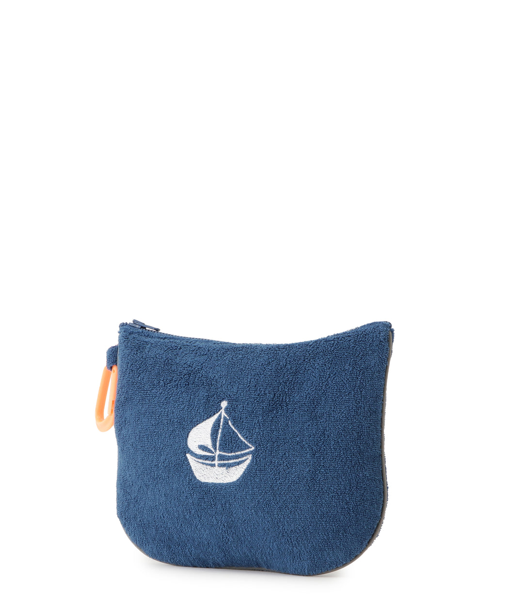 Pile fabric tote & pouch