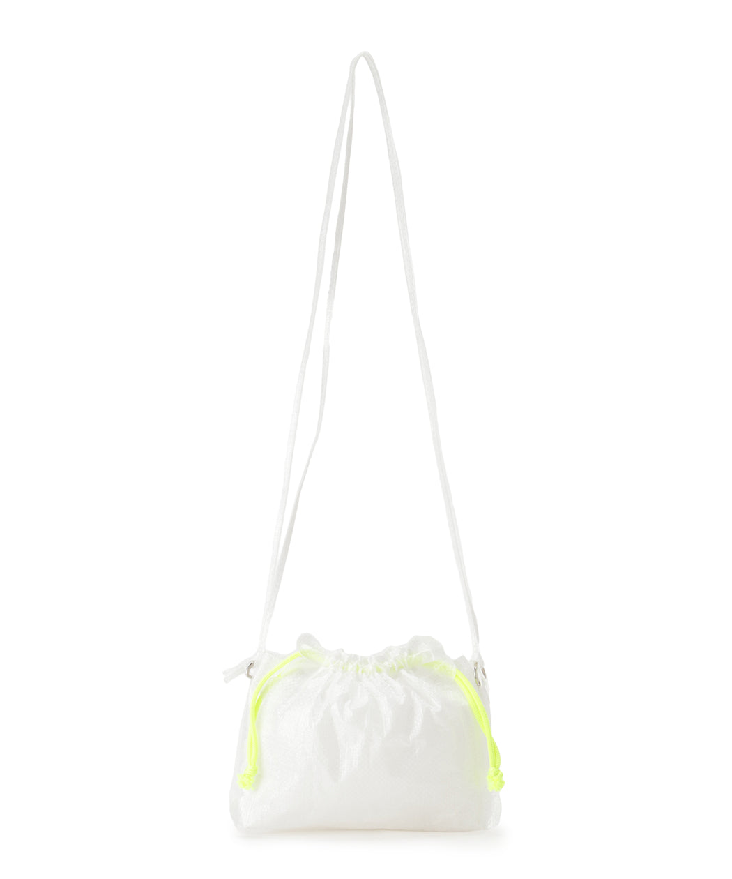 Scalloped mini cross-body bag