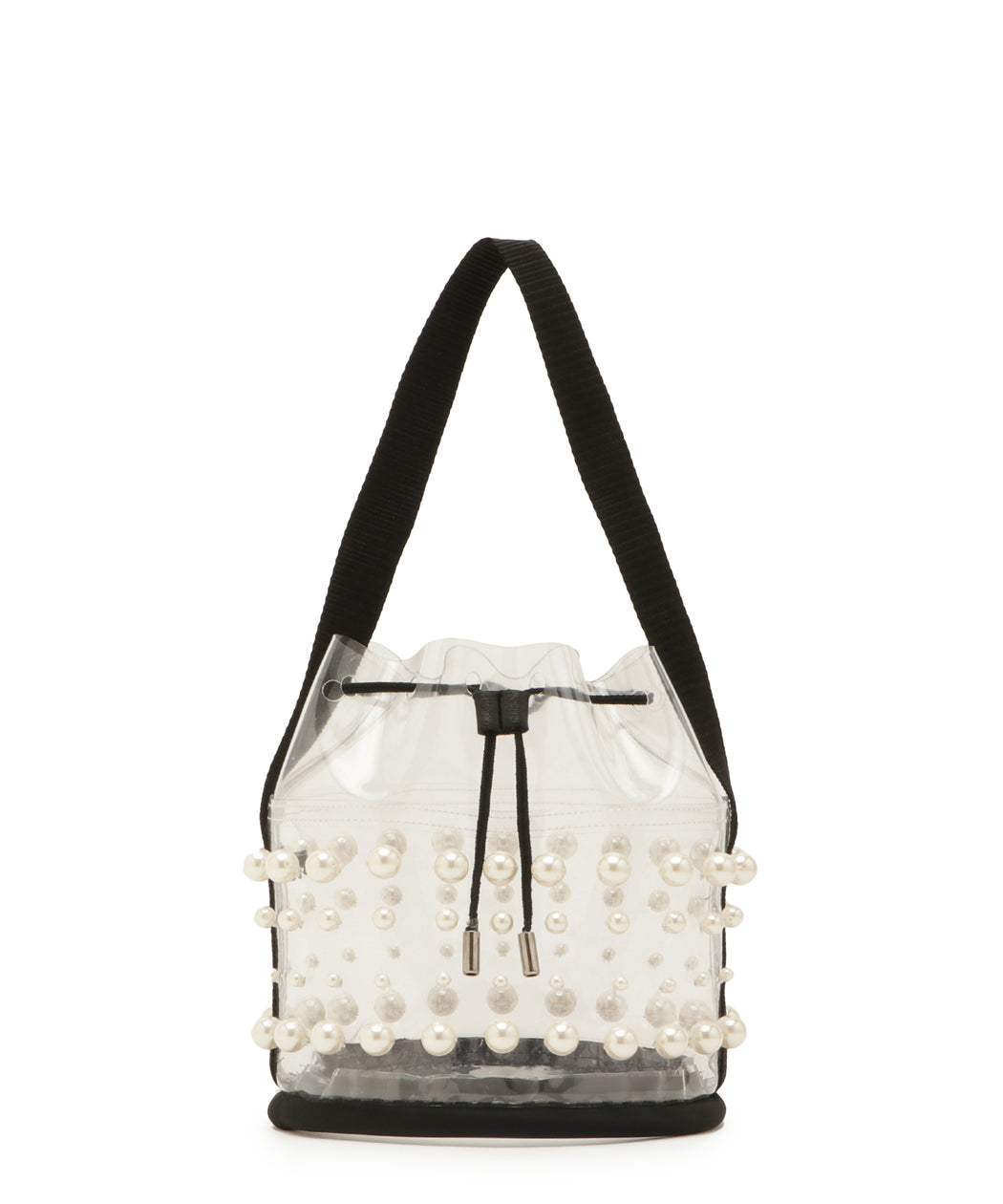 Pearl PVC bucket bag