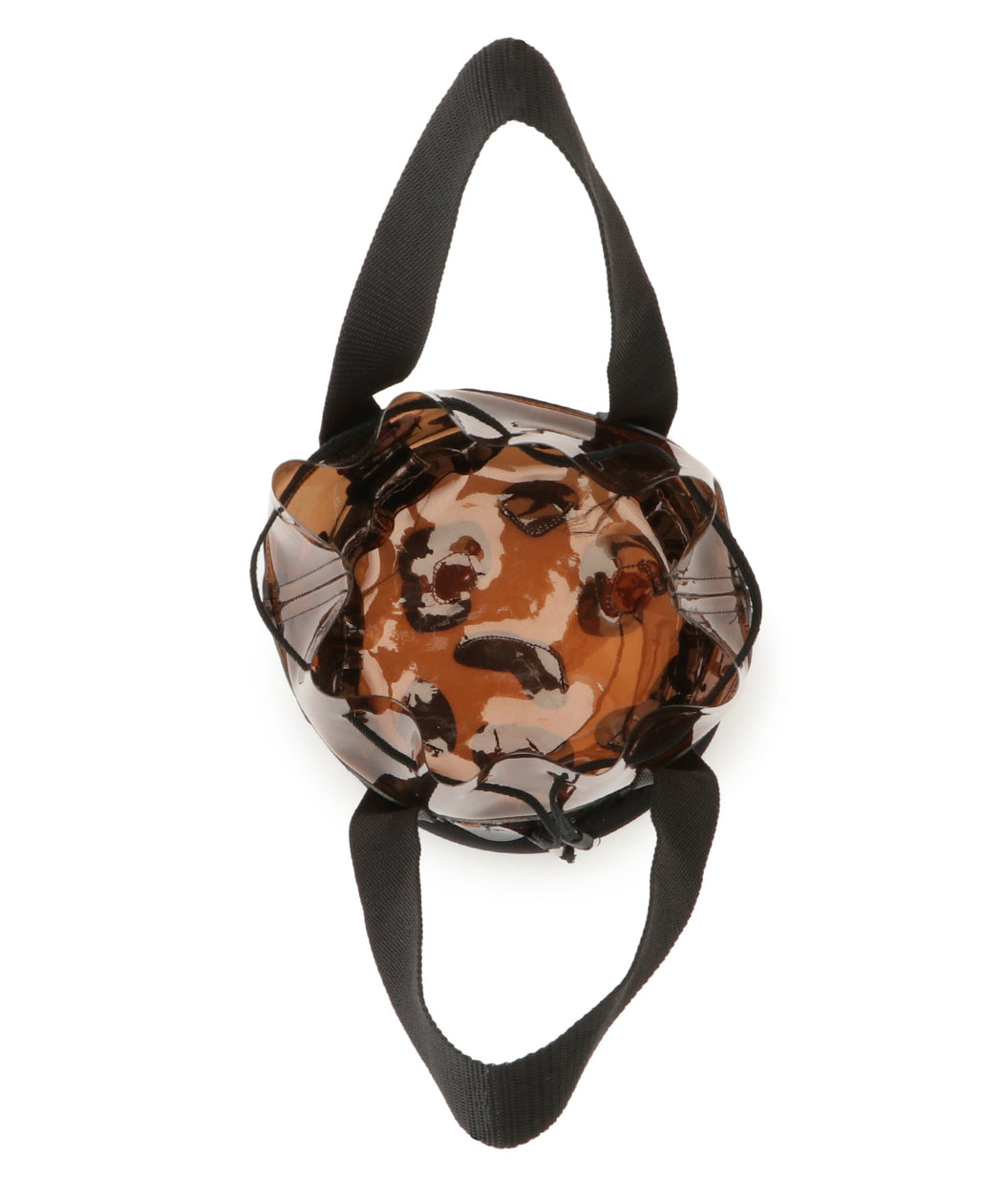 Leopard PVC bucket bag