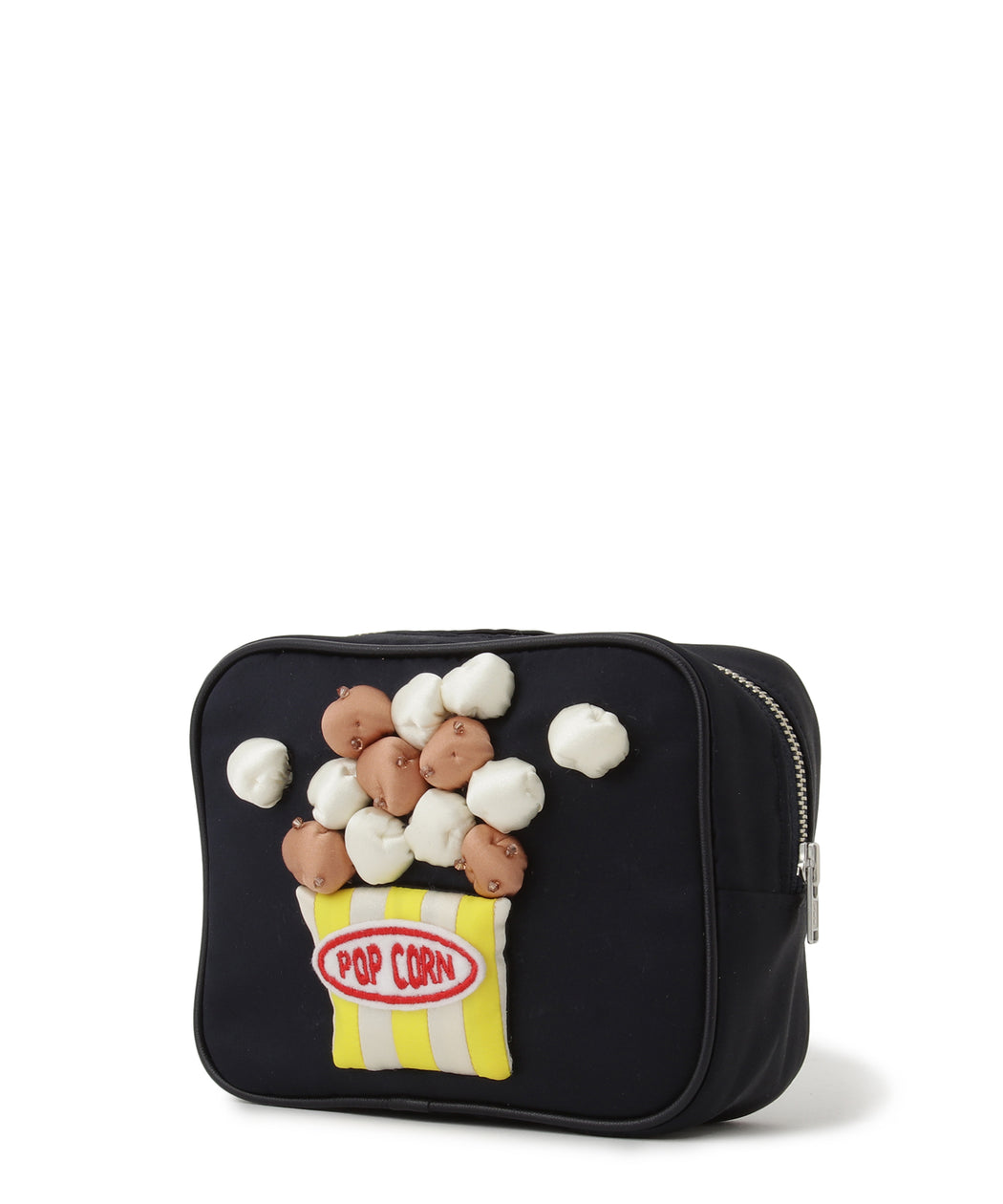 [阪急限定] Pouch with tissue case (popcorn)