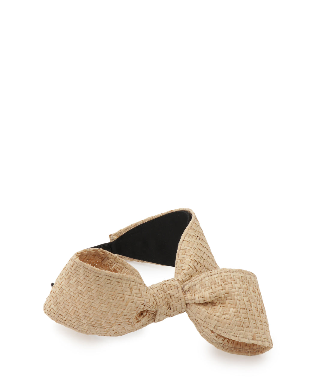 [WEB限定] Raffia ribbon headband