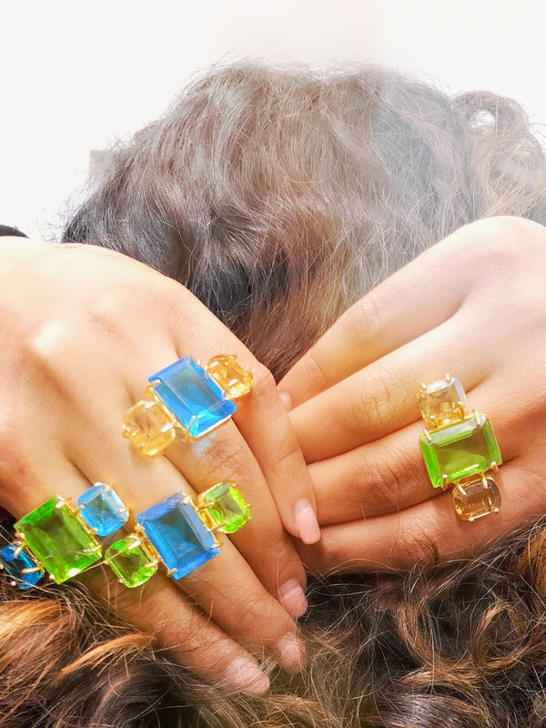 Miami Statement Rings - Linda's closet