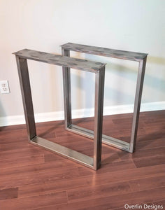 Rectangle Metal Legs