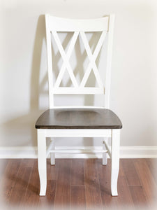Double X Back Farmhouse Dining Chair