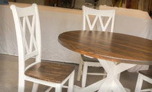 Double X-Back Farmhouse Dining Chairs - Set of 2