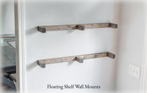 Rustic Floating Shelf