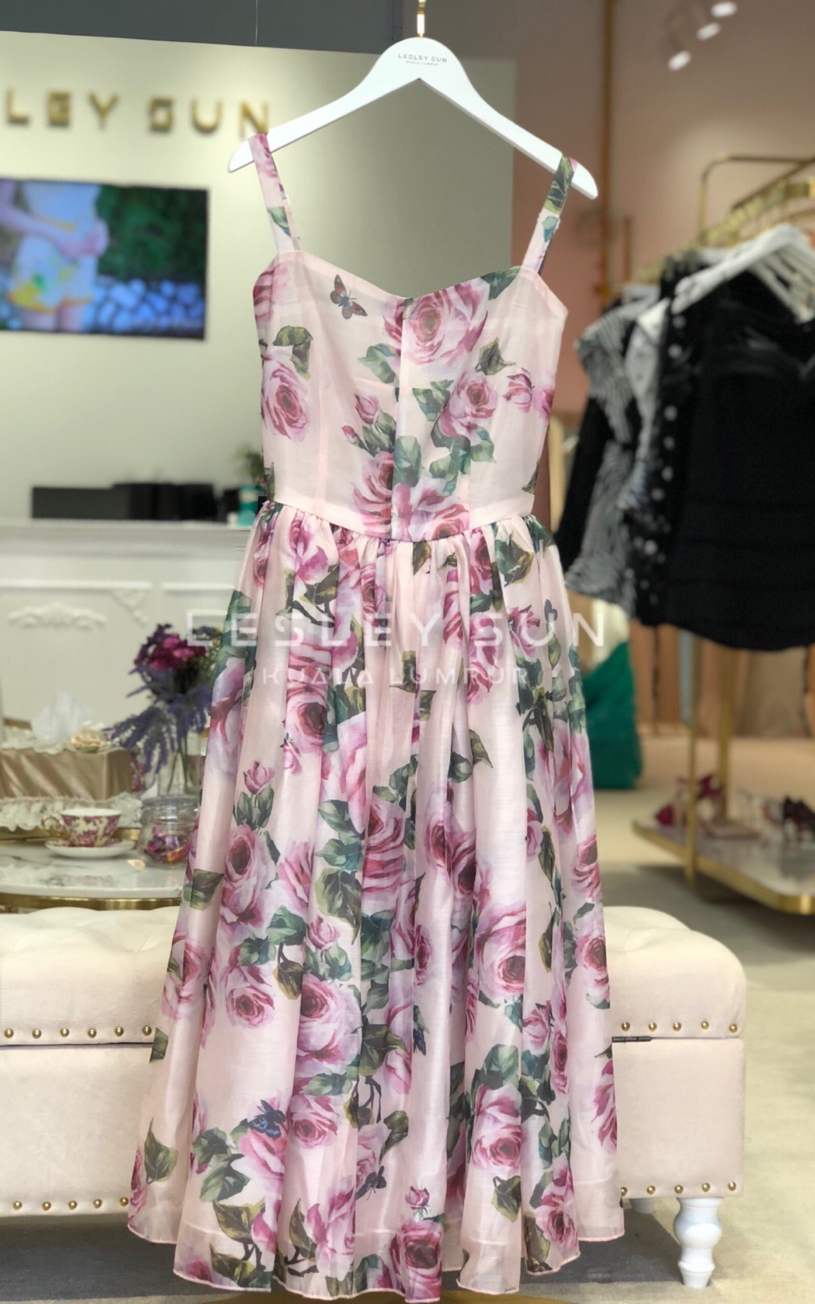 Rosalind Flora Dress