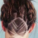 Razor Pen Hair Tattoo